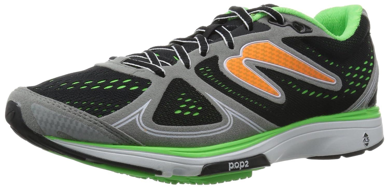 [ニュートンランニング] Newton Running ランニングシューズ FATE [メンズ] B00Z9PUODY 6.5(24.5cm)(24.5cm) グレー/グリーン