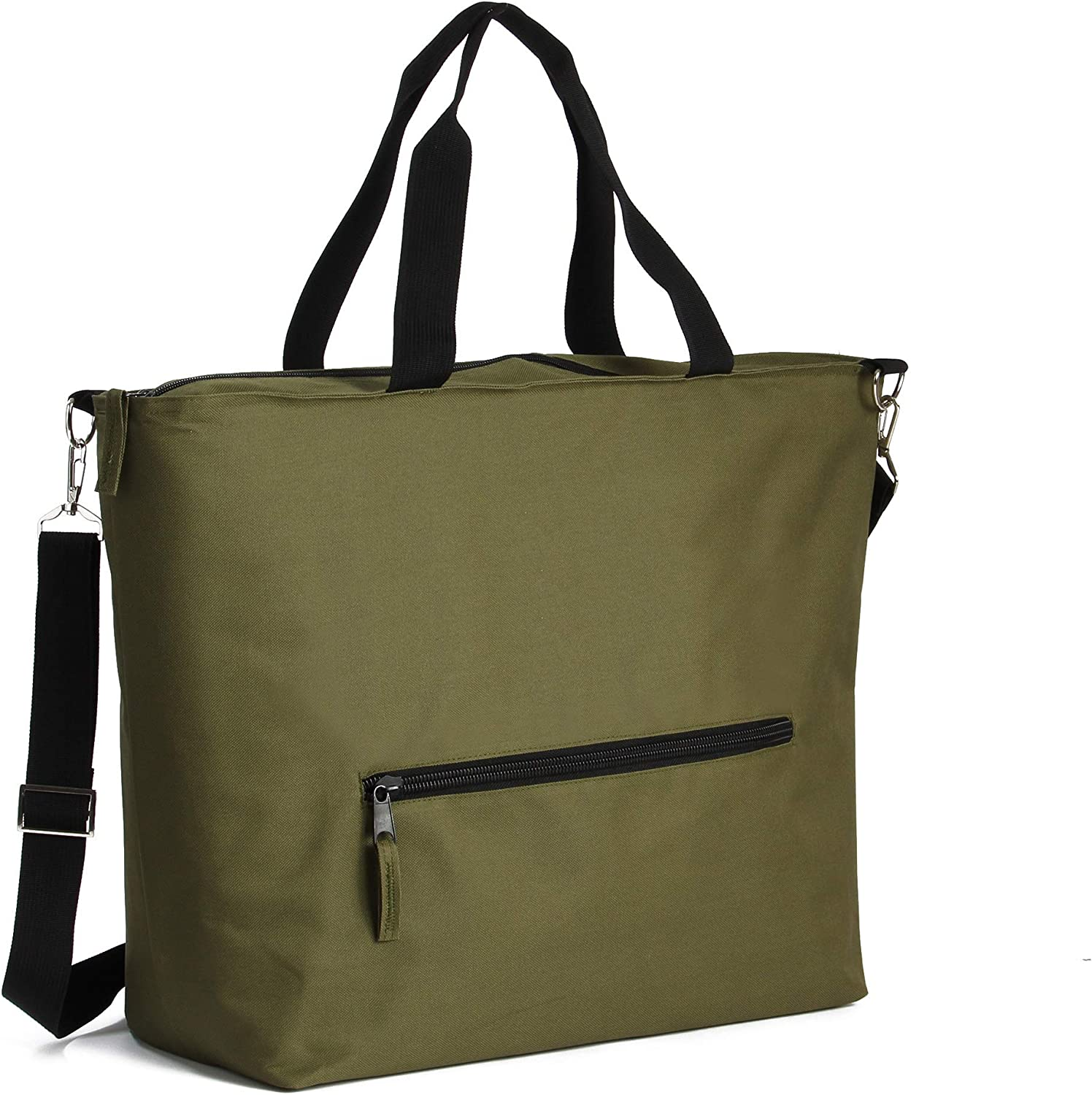 Earthwise Jumbo Insulated Grocery Bag Extra Large with Zipper Closure for Groceries, Picnics Keeps Food Hot or Cold Removable Shoulder Strap 24 inches x 15