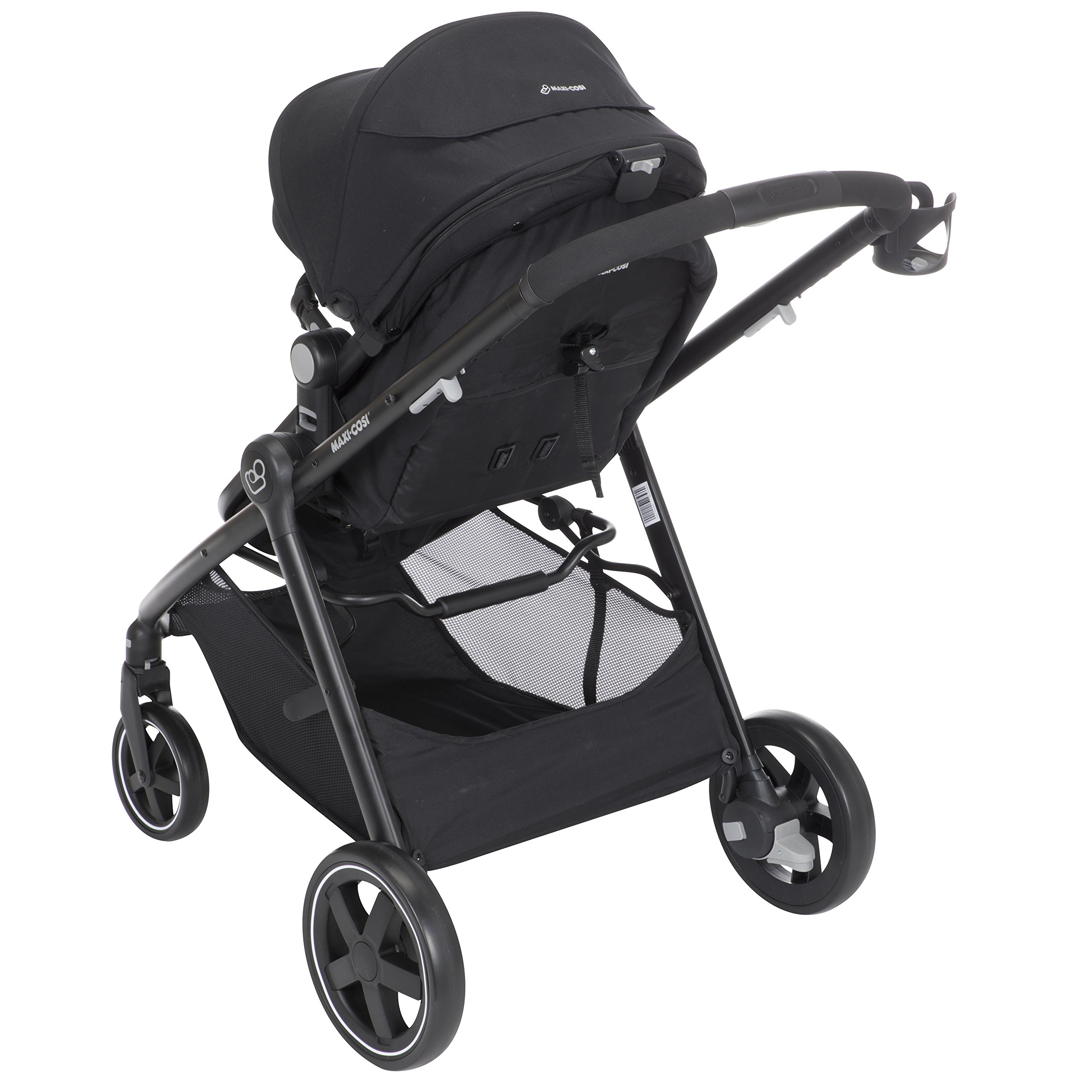 Maxi-Cosi Zelia 5-in-1 Modular Travel System Stroller and Mico 30 Infant Car Seat Set (Night Black) by Maxi-Cosi (Image #11)