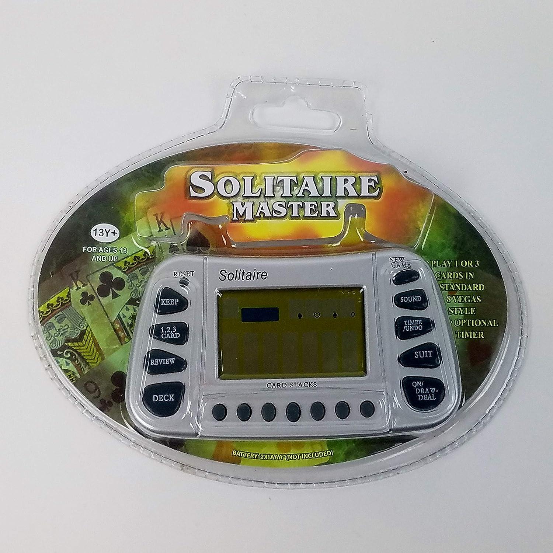 2019年春の Electronic Solitaire Master Game by Carol Wright Gifts B003Q8H1M8, 流行に  6ca90964
