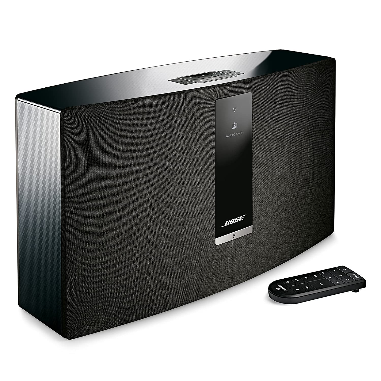 Bose Soundtouch 30 Wireless Speaker Works With Alexa Phone Lines Used For Setting Up Whole House System Black 738102 1100 Home Audio Theater