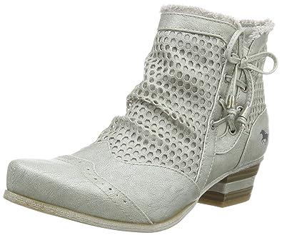 1221-809-21, Sandales Bout Ouvert Femme, Argent (21 Silber), 40 EUMustang