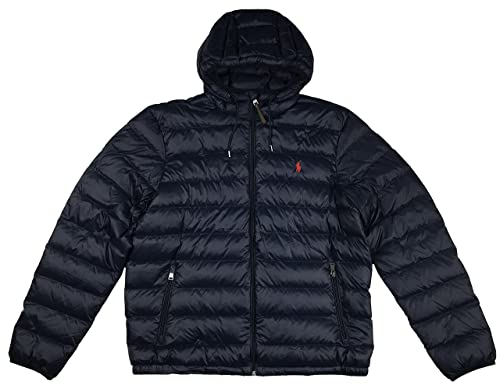 d7d9f7e59 Polo Ralph Lauren Mens Full Zip Hooded Puffer Jacket