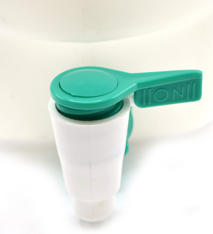 Eisco Labs 10 Liter Polypropylene Aspirator Bottle with Leak Proof Spigot