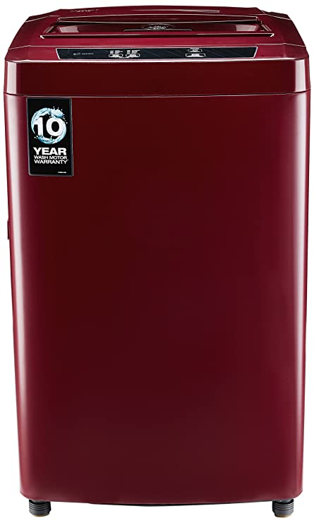 Godrej 6.4 kg Fully-Automatic Top Loading Washing Machine (WTA 640 EI, Autumn Red) Washing Machines & Dryers at amazon