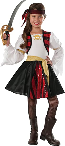 Rubies Disfraz de Pirata de Alta mar para niños: Amazon.es ...