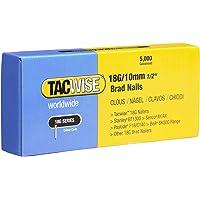Tacwise 0392 stiftnagels 18G/10mm verzinkt (5.000 stuks), grijs, 10 mm