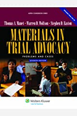 Materials in Trial Advocacy: Problems & Cases, 7th Edition (Aspen Coursebook Series) Paperback