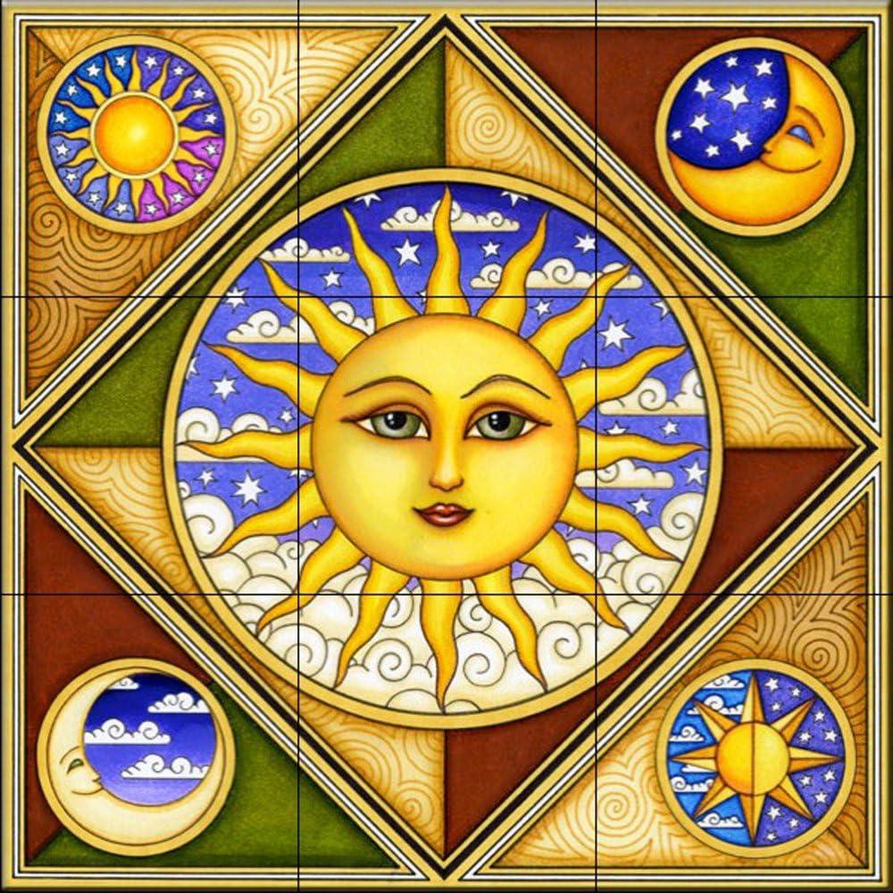 Celestial Rise Above K/üche Aufkantung // Bad Dusche Keramik Fliesenbild von Dan Morris