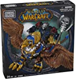 Mega Bloks World of Warcraft Swift Gryphon and Graven (Alliance Wargen Death Knight)