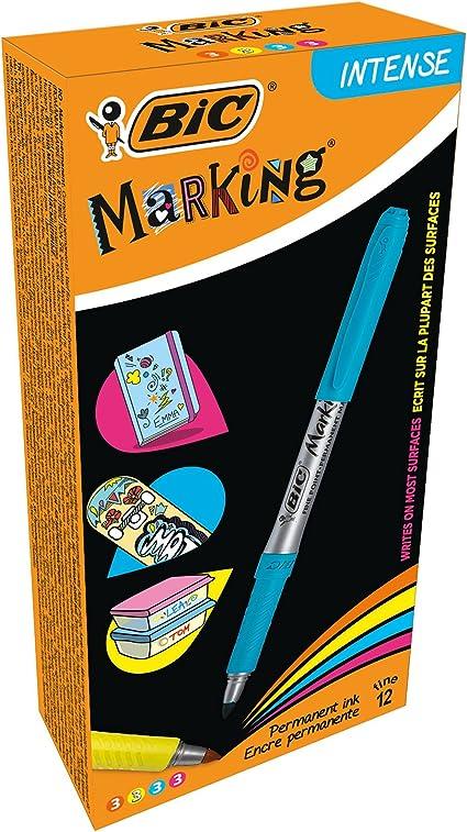 BIC 950468 marcado marcador permanente – intensos colores surtidos ...
