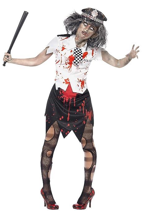 SMIFFYS Costume Zombie Poliziotta bcf9c38c9cfb