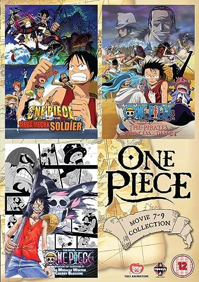 One Piece: Movie Collection 3 [DVD] [Reino Unido]: Amazon.es: Akemi Okamura, Ikue Ohtani, Hiroaki Hirata, Kappei Yamaguchi, Knosuke Uda, Takahiro Imamura, Junji Shimizu, Akemi Okamura, Ikue Ohtani: Cine y Series TV