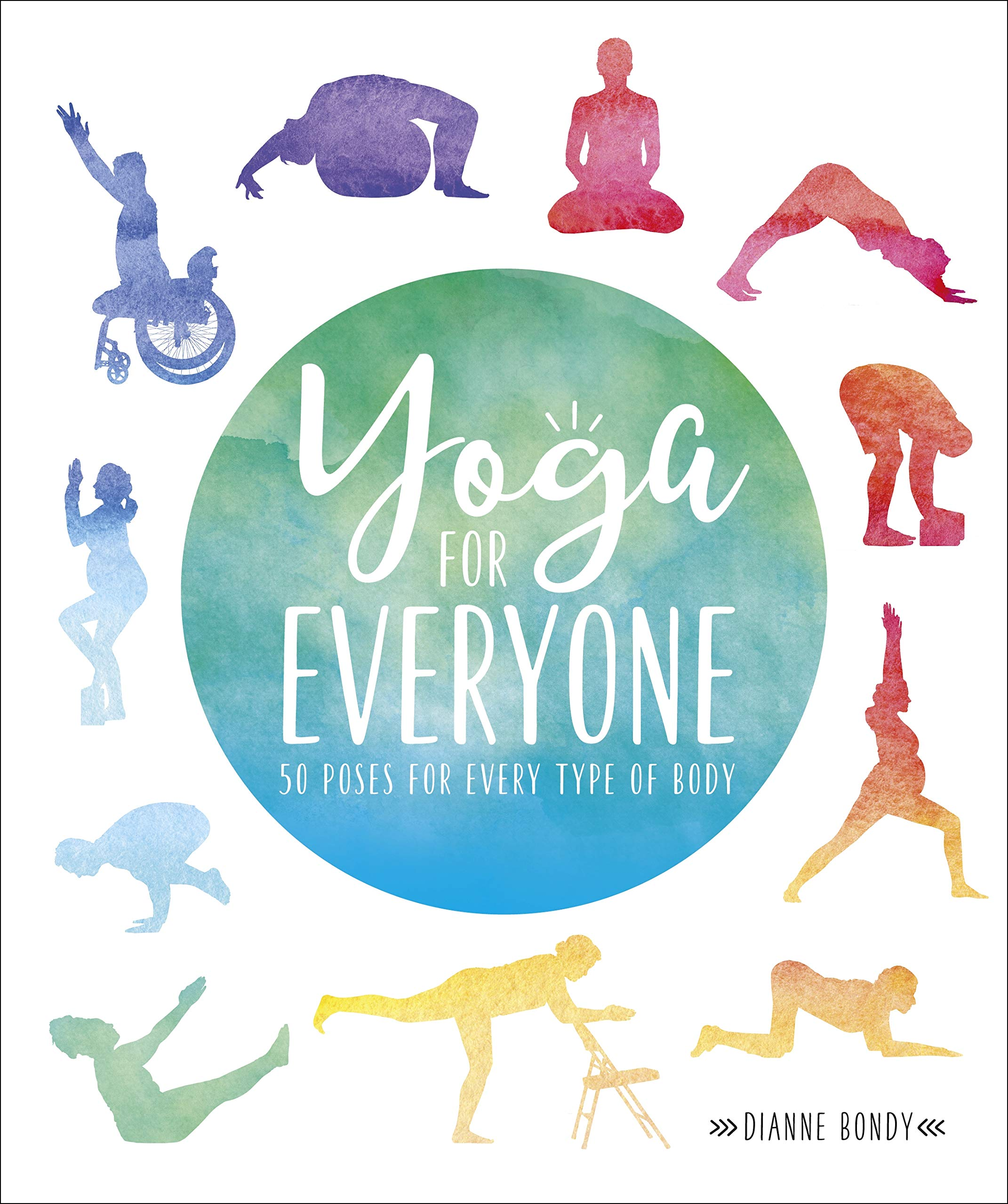 Yoga for Everyone: 50 Poses for Every Type of Body: Amazon ...