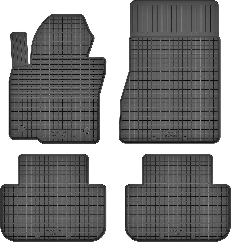 Ko Rubbermat Gummimatten Fußmatten 1 5 Cm Rand Geeignet Zur Bmw X5 E70 F15 Bj 2006 2018 Ideal Angepasst 4 Teile Ein Set Auto