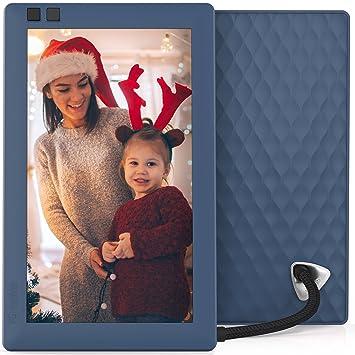 Amazoncom Nixplay Seed 7 Inch Wifi Digital Photo Frame Blue