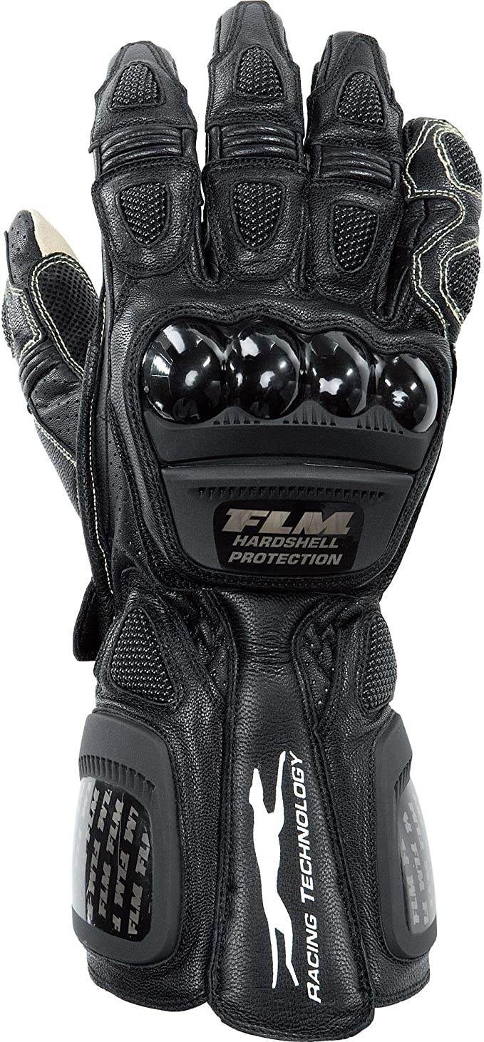 Sportler Ganzj/ährig Leder//Textil Herren FLM Motorradhandschuhe kurz Motorrad Handschuh Sports Lederhandschuh 2.0 kurz