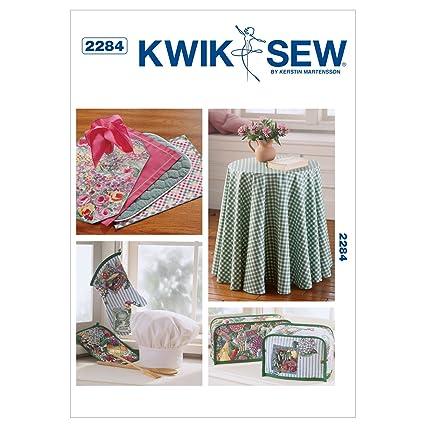 Amazon Kwik Sew K2284 Chefs Hat Sewing Pattern Oven Mitt
