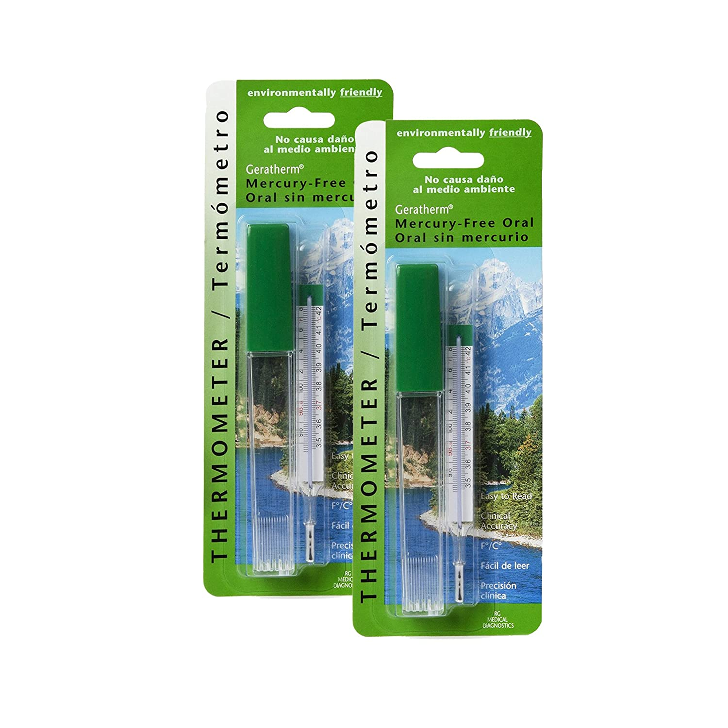 Amazon.com: Geratherm Thermometer Oral Mercury Free 1 Each (Pack of 11): Health & Personal Care