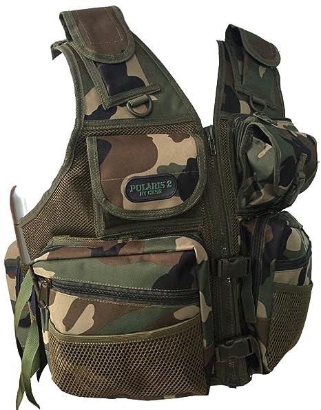 Chaleco para detección de metales, de la marca CKSN, con mochila integrada