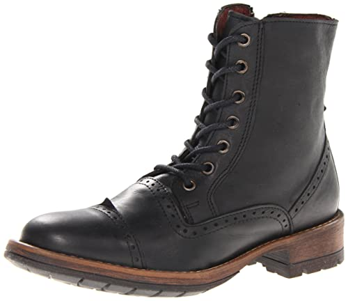 d1b12279cf0 Amazon.com | Steve Madden Men's Nathen Lace-Up Boot | Motorcycle ...