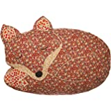 Sass & Belle Applique Sleeping Fox Cushion (With Inner)