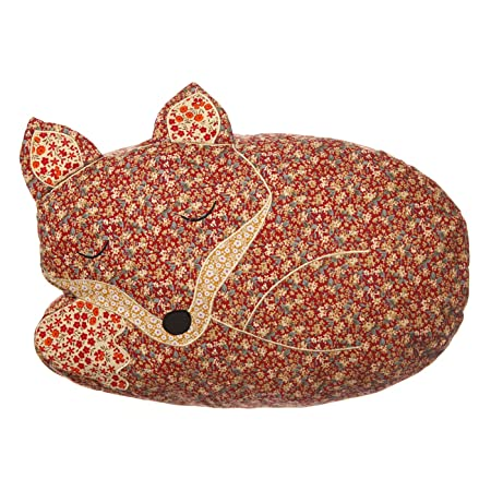 Sass U0026 Belle Applique Sleeping Fox Cushion (With Inner)