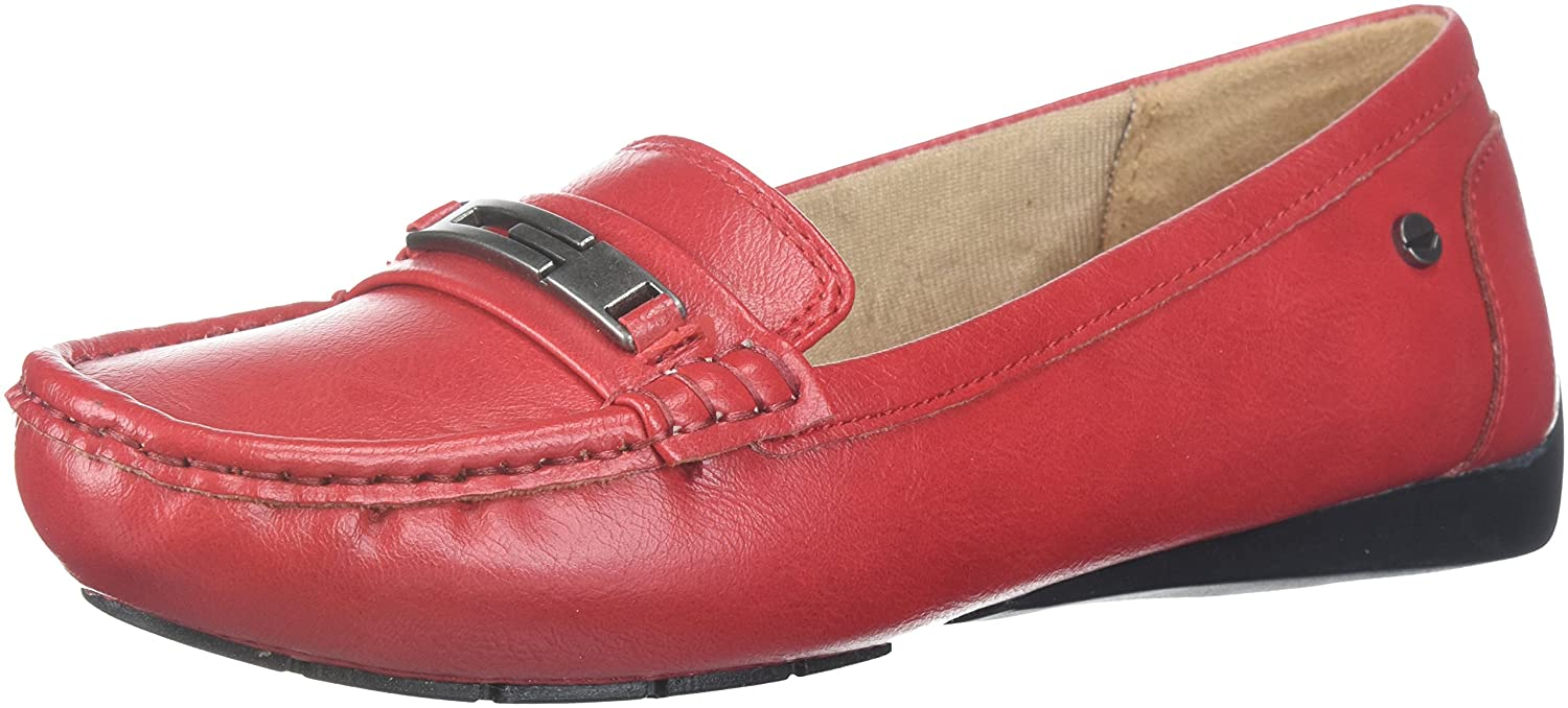 LifeStride Women's Viva Slip-On Loafer B07763QV8Z 10 B(M) US|Fire Red