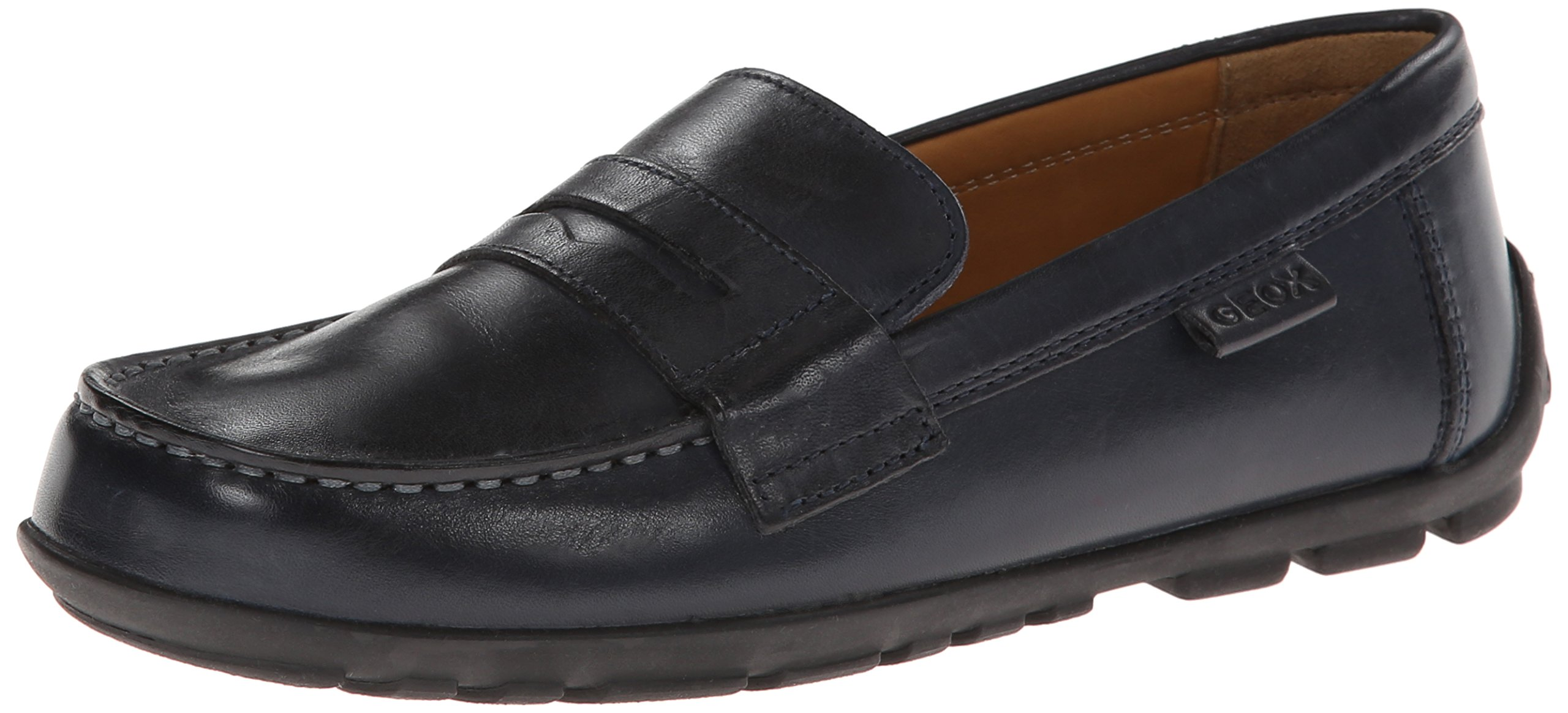 Geox Cfast11 Moc,Navy,35 EU(3.5 M US Big Kid) by Geox