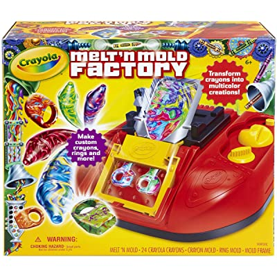 Crayola Melt 'N Mold Factory, (74-7060): Toys & Games