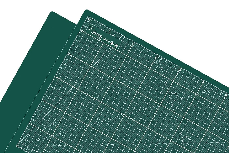 tappetino da taglio, taglio A0Pro Line XXL grande 90x 120cm 1lati Verde su verde altera CMP-GG90120