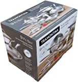 Tramontina Tri-Ply Stainless-Steel 9-Piece Cookware Set
