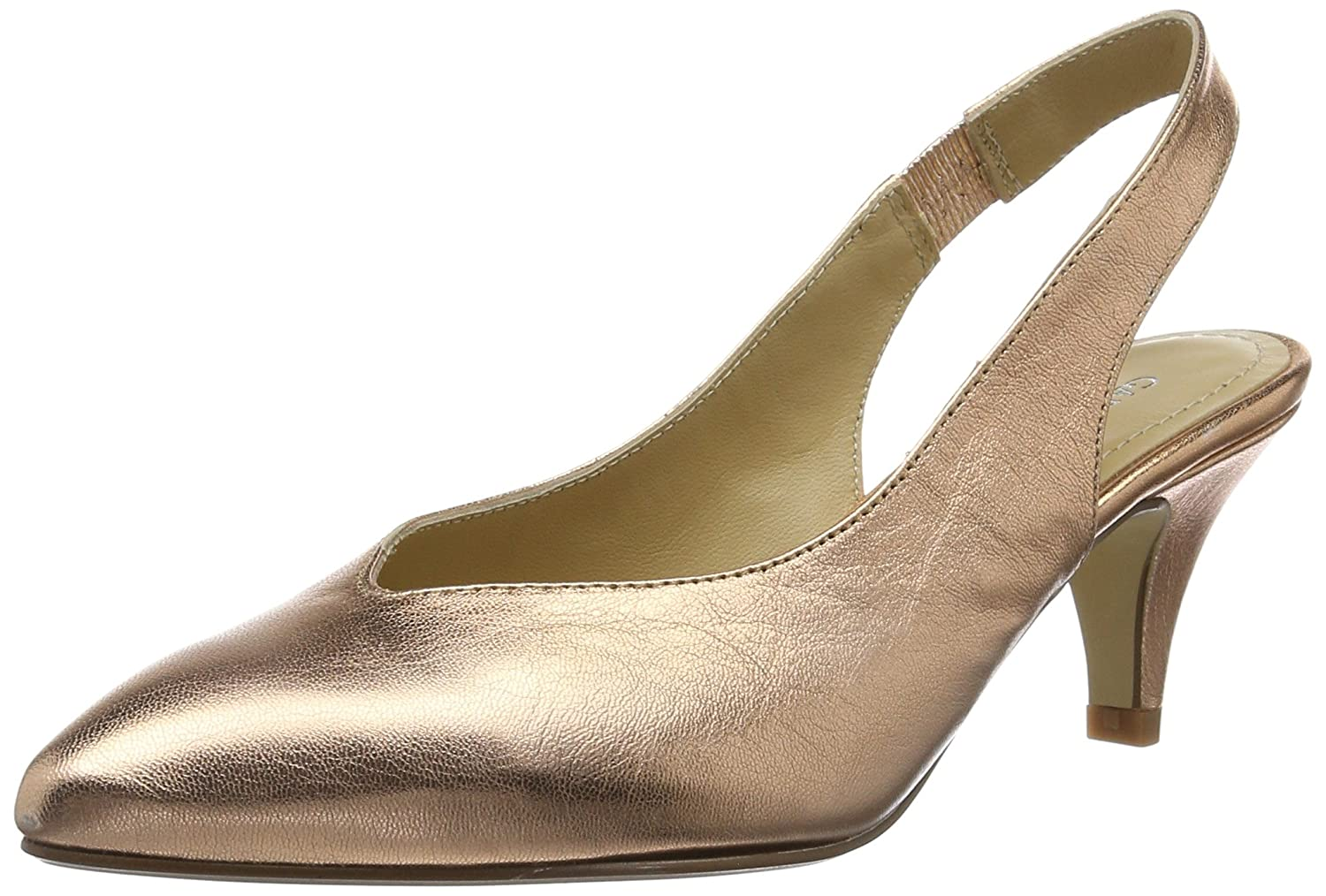 GARDENIA COPENHAGEN Damen Gold Pump Pumps Nepal Gold Damen 89af05