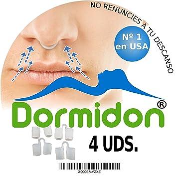 Dormidon® - Dilatador nasal 4 unidades - 2 Tamaños distintos - 2 Acabados distintos - Modelo de dilatador nº1 en EEUU - Producto antirronquido - Deja ...