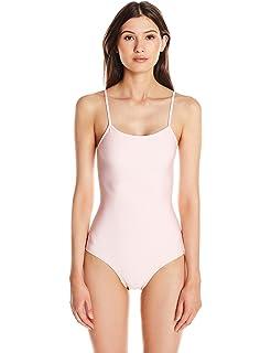 2f7478ec01f Vitamin A Women's Muse BodySculpt Ebony Gaia Bodysuit One Piece Swimsuit.  $230.00 · Cynthia Rowley Women's Low Scoop Maillot One-Piece Swimsuit