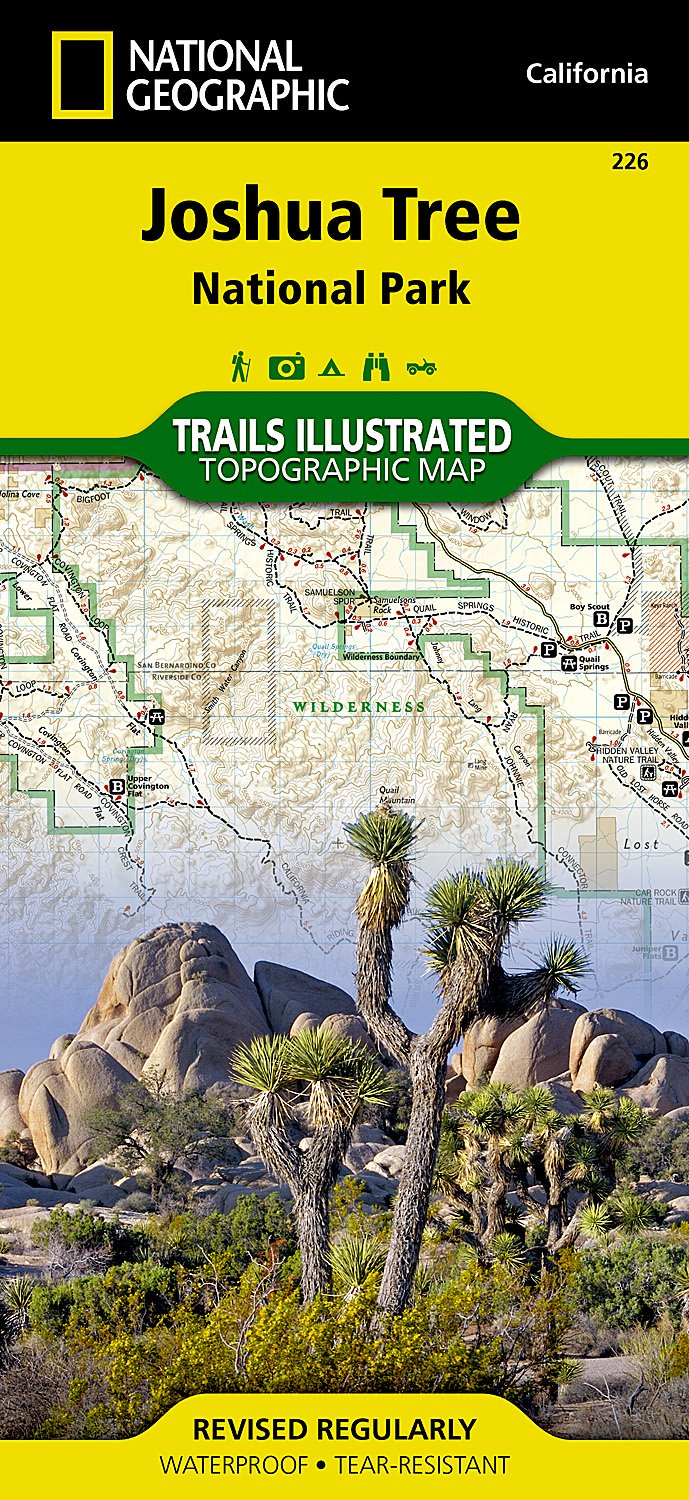 Read Online Joshua Tree National Park (National Geographic Trails Illustrated Map) pdf