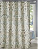 LanMeng Elegance Luxury Bathroom Shower Curtain Waterproof and Mildewproof Polyester Fabric