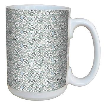 Amazon tree free greetings lm43673 cool 50 shades of gray dots tree free greetings lm43673 cool 50 shades of gray dots by shell rummel ceramic mug m4hsunfo