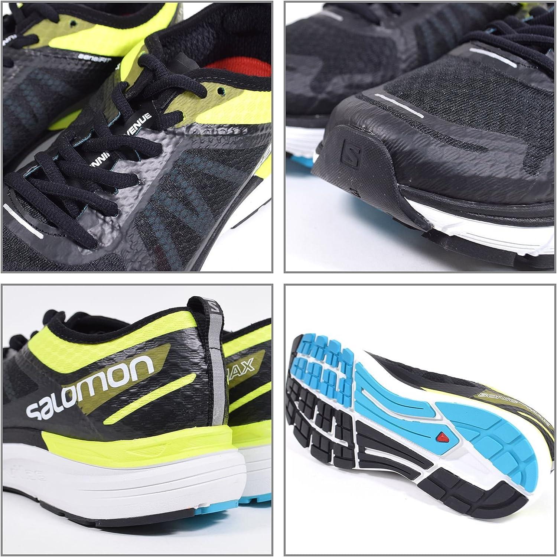 Sonic Ra Max – Zapatillas de running hombre, Safety Yellow / Black / Bluebird: Amazon.es: Deportes y aire libre