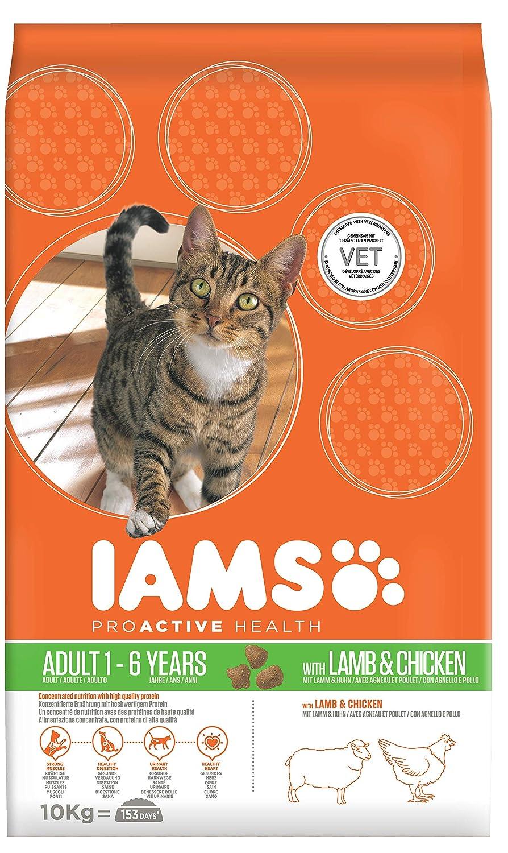 Iams - Croquettes pour chat adulte - Agneau néo-zélandais - 10 kg 81409160