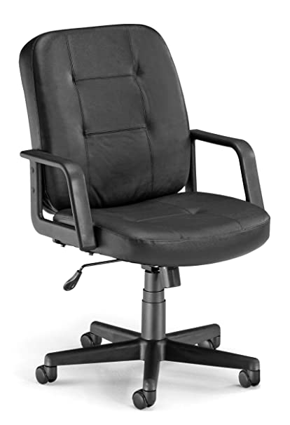 Prime Ofm Lo Back Executive Leather Chair Low Back Ergonomic Office Chair Black 505 L Creativecarmelina Interior Chair Design Creativecarmelinacom