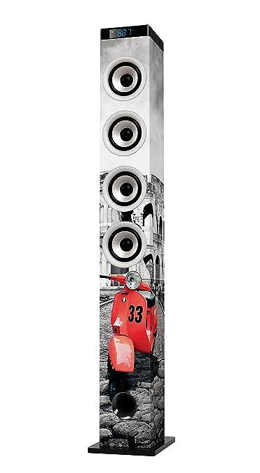 2 opinioni per Ices IBT-5 Roma 48W Black,Red,White loudspeaker- loudspeakers (Universal, Floor,