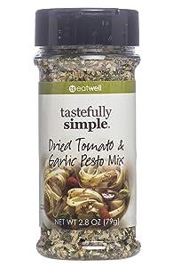 Tastefully Simple Dried Tomato & Garlic Pesto Mix - 2.8 oz