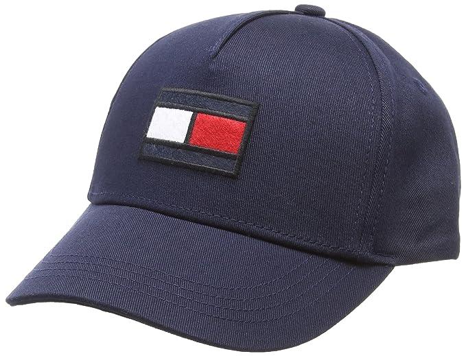 8d9e0d90f Tommy Hilfiger Big Flag Baseball Cap: Amazon.co.uk: Clothing