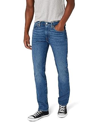 Levis Hombre 511 Adelgazan los Pantalones Vaqueros, Azul