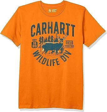 Carhartt Boys Short Sleeve Cotton T-Shirt