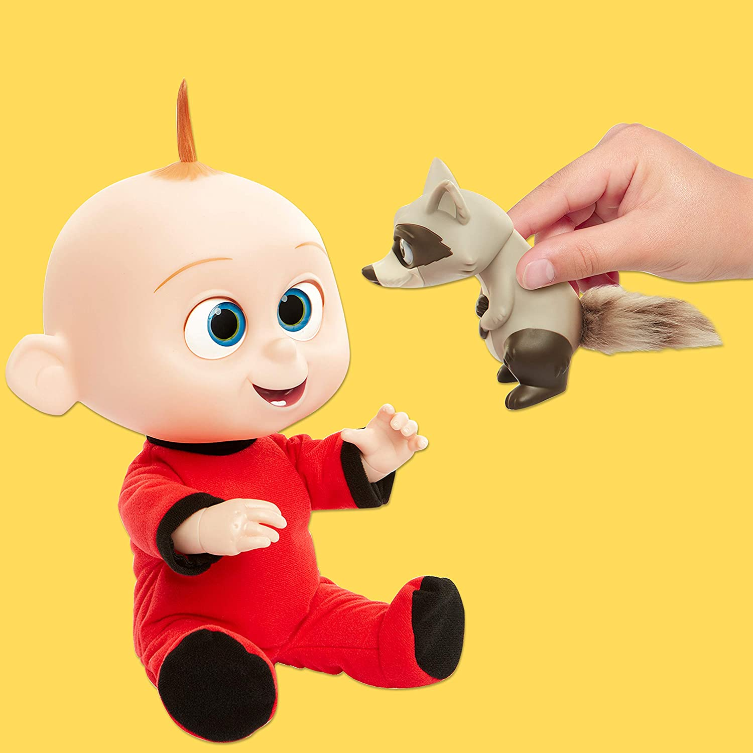 Incredibles 2 Jack Attacks includes Racoon Plush Doll