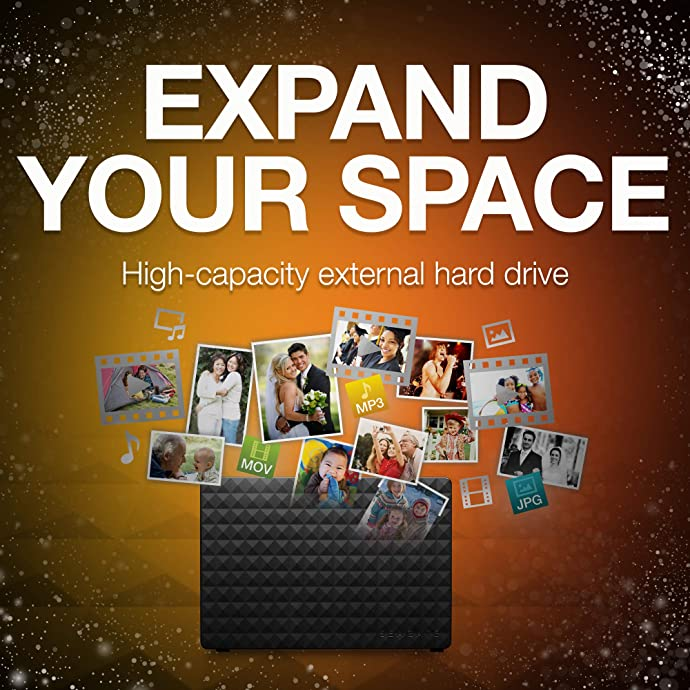 Seagate 希捷 Expansion 新睿翼 6TB 3.5英寸 USB3.0桌面式硬盘 ¥591