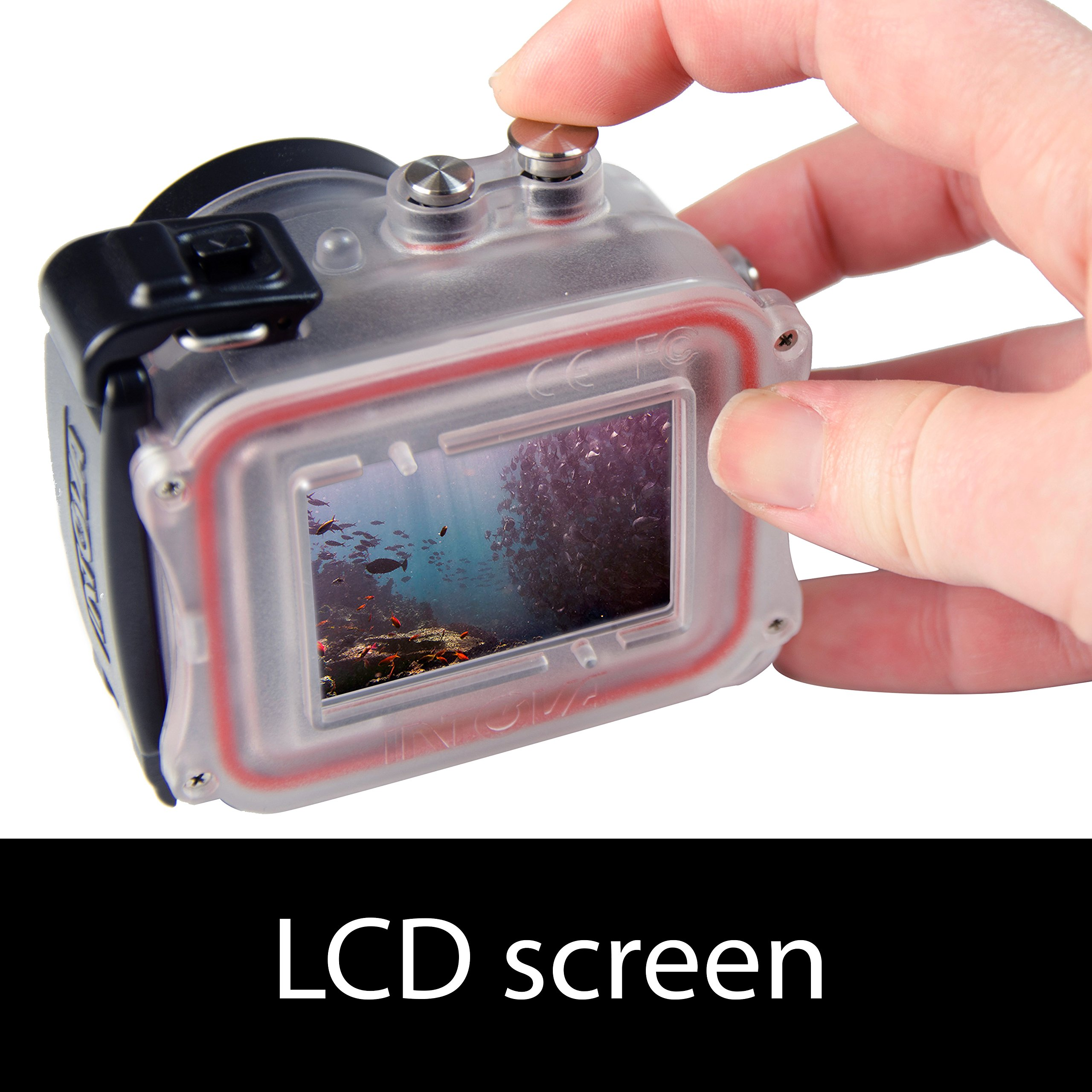 Intova HD2 Waterproof 8MP Action Camera with Built-in 150-Lumen Light and Remote Control by Intova (Image #7)