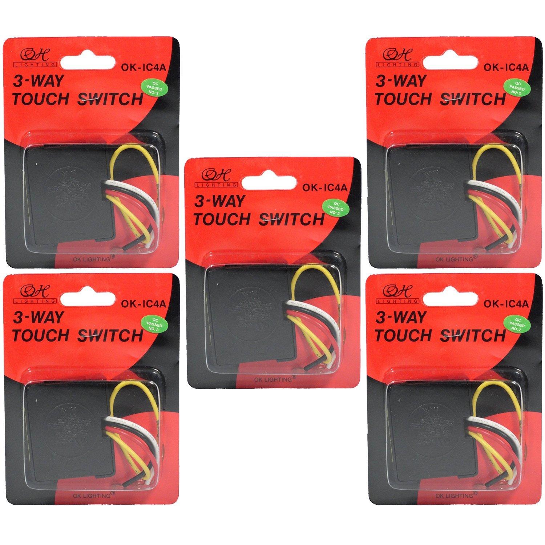 Touch Light Sensor (Set of 5 pieces) - - Amazon.com on